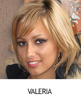 Valeria - NylonFeetLove